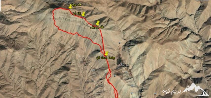 صعود قله واریش-قله لیز و قله لیچه