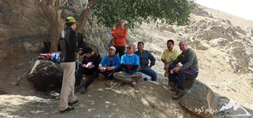 کاراموزی کوهپیمایی ویژه اقایان