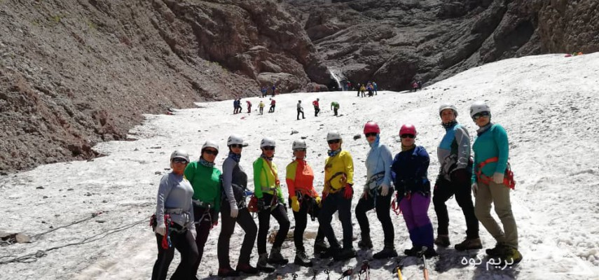 کاراموزی برف ویخ مقدماتی ویژه بانوان