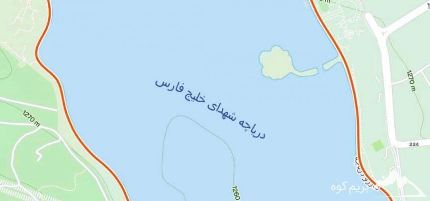 دویدن دور دریاچه چیتگر