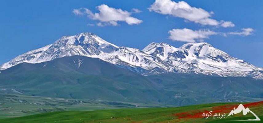 صعود قله سبلان