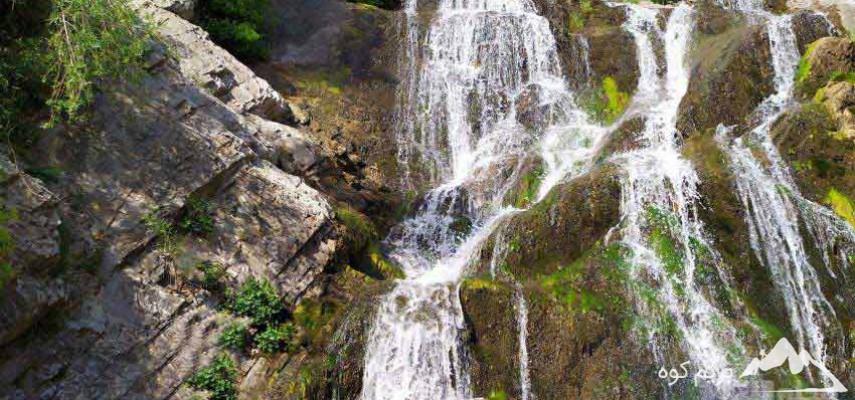 پیمایش آبشار طالون و آبشار دره حیدر
