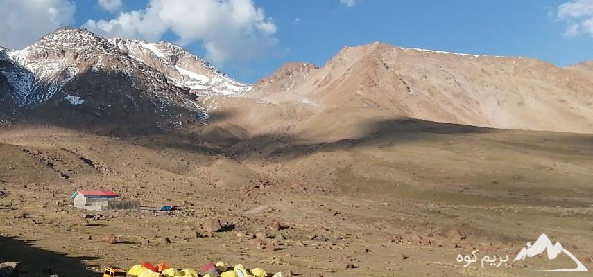 برنامه صعود به قله سبلان