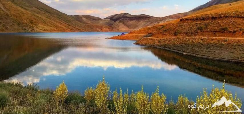 دریاچه زیبای تار دماوند