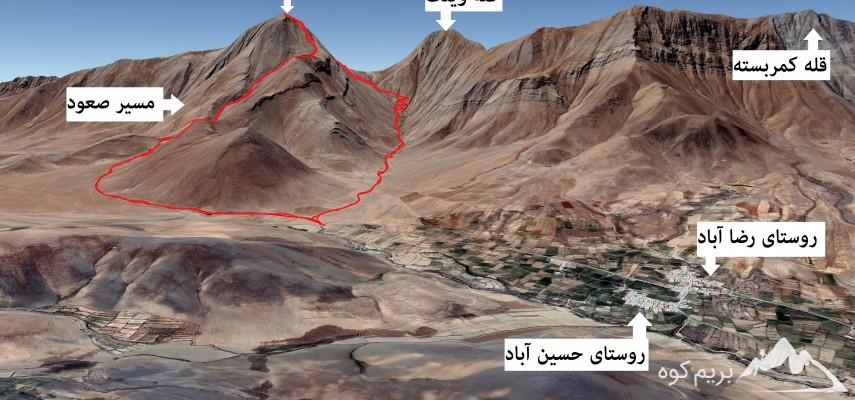 قله ۳۳۰۰ متر ویلو