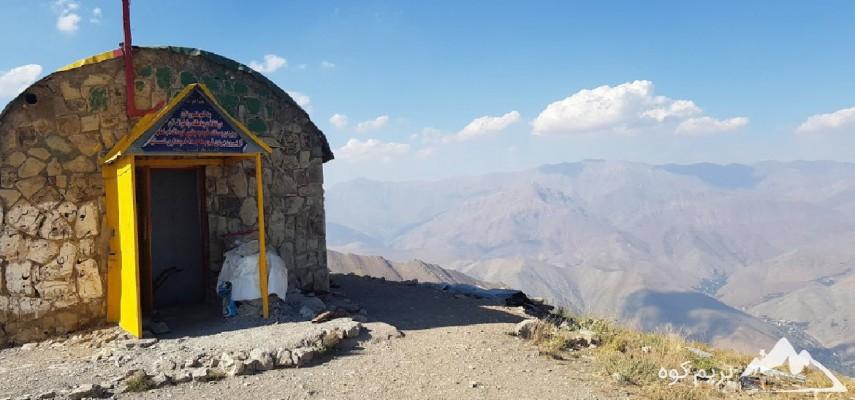 صعود قله دارآباد