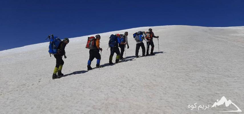 صعود به قله کهار