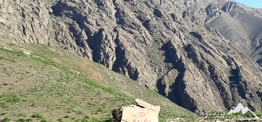 خط الراس عرقچین به قله کلکچال