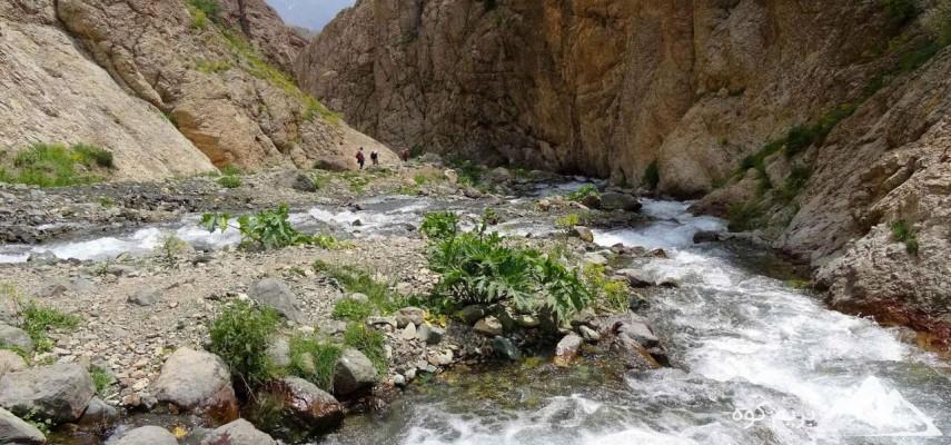 پیمایش روستای لالان تا آبشار خلنو