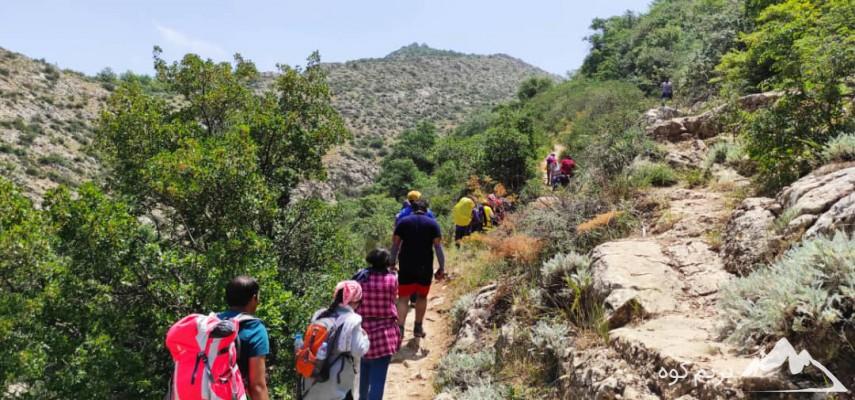 کارآموزی کوهپیمایی بانوان