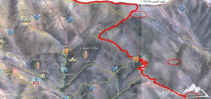 پیمایش قله کلکچال به قله توچال