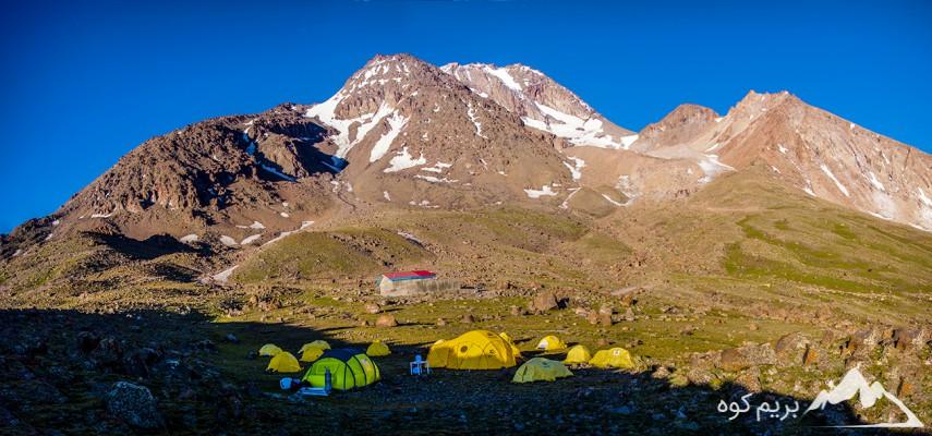 صعود به قله سبلان