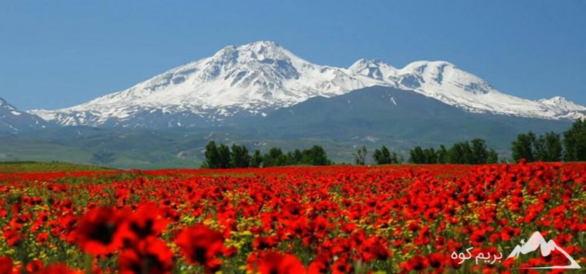 صعود به قله سبلان (طرح سیمرغ)