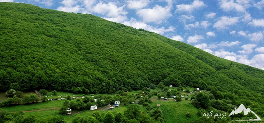 جنگل های ارسباران ، قلعه بابک و جلفا