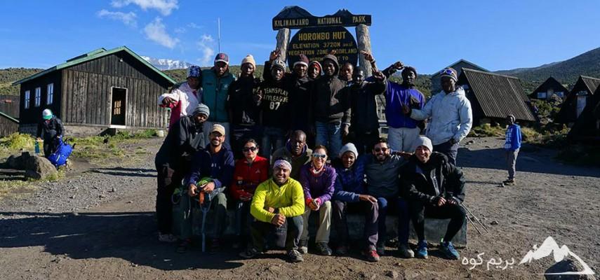 صعود به قله کلیمانجارو