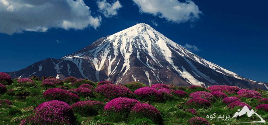 صعود به قله دماوند (شمال شرقی) (طرح سیمرغ)