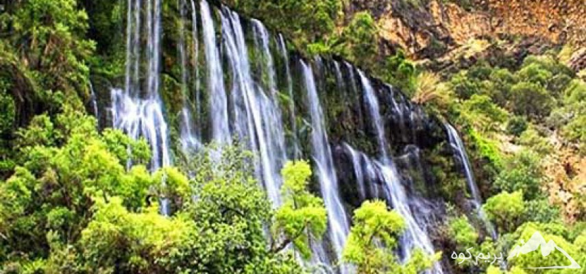 تنگه تامرادی و آبشار مارگون