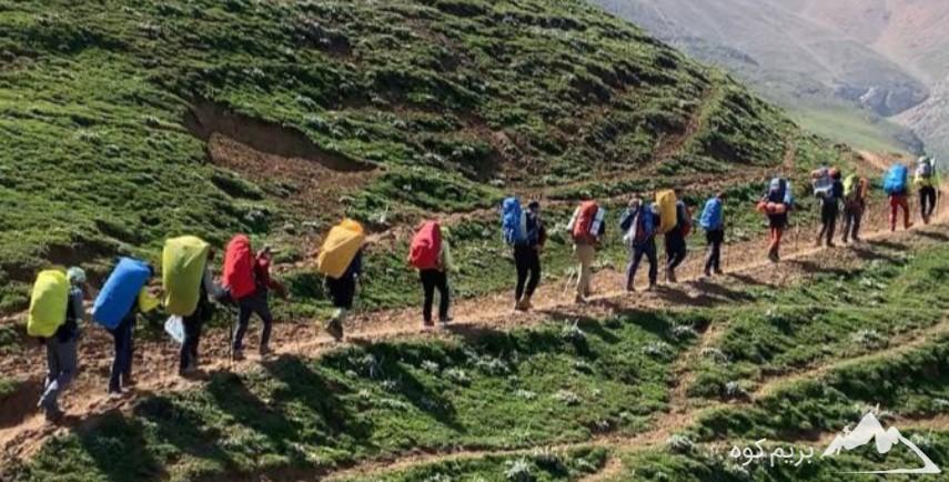 کارآموزی کوهپیمایی (بانوان و آقایان )