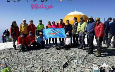 گزارش برنامه صعود  شبانه به قله توچال