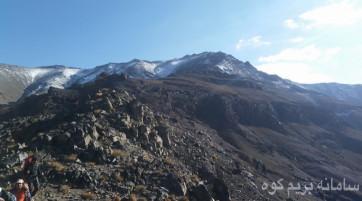صعود به قله هزار کرمان