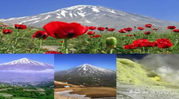 صعود از چهار جبهه به قله دماوند