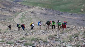 پیمایش قله شهرستانک به قله توچال