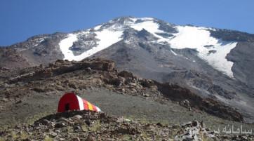 صعود به قله دماوند (از جبهه شمالی یا جنوبی با توجه به میزان تقاضا)