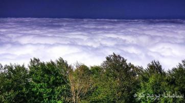 بازدید از جنگل ابر ، آبشارهای شیرآباد ، آبشار کبودوال،آبشارهای لوه