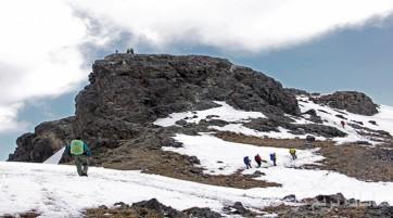 صعود به قله کرکس