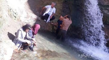پیاده روی از روستای سنج (توابع برغان) تا دشت ناز