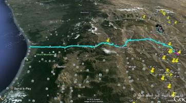 پیمایش مسیر تهران به شمال