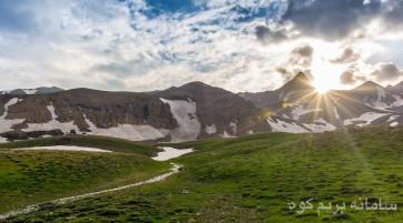 صعود به قله علم کوه- دومین قله بلند ایران