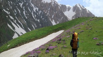صعود به علم کوه از حصار چال