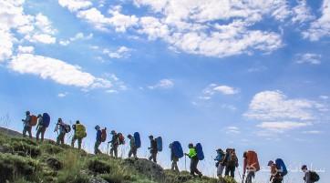 صعود زمستانی به قلهی ۵۱۳۷ متری آرارات