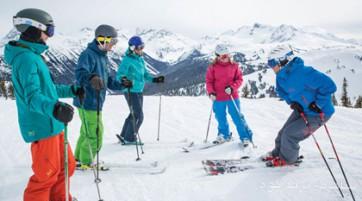 آموزش اسکی آلپاین با مربی درجه ۳ (گروهی)