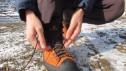 آموزش بستن گره کفش کوهنوردی