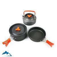 قیمت ست ظروف پخت و پز کوهنوردی سه تکه